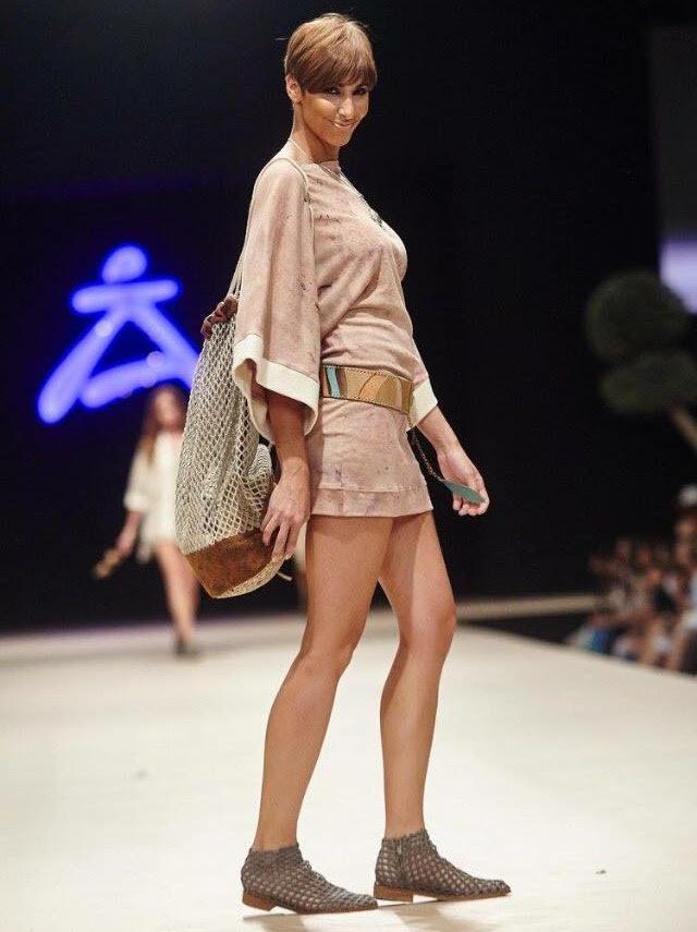 sfilata di moda con creazioni di Andrea Verdura
